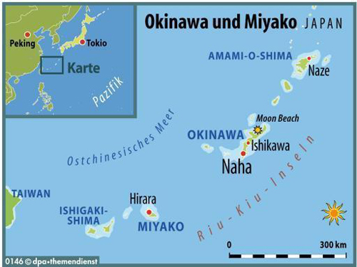 Okinawa and Miyako Islands
